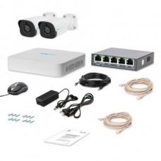 Комплекты IP видеонаблюдения