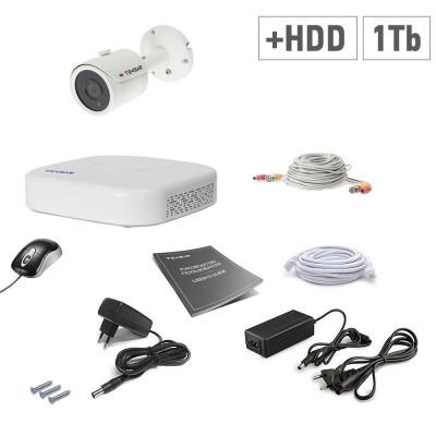 AHD Tecsar 1OUT + HDD 1TB