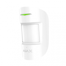 Беспроводной датчик движения и разбития Ajax CombiProtect белый