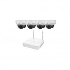 Комплект видеонаблюдения IP Uniview KIT/NVR301-04LB-W/4*322SR3-VSF28W-D