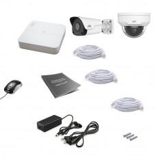 Комплект IP видеонаблюдения Uniview 2MIX 2MEGA