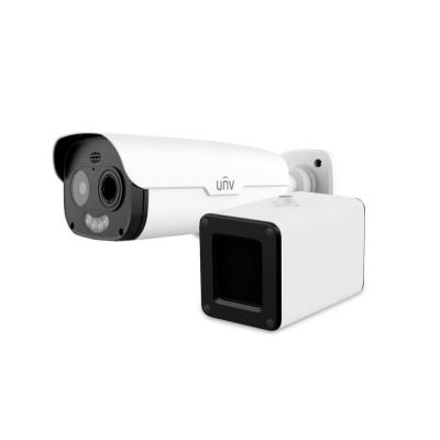 Оптическая и тепловая IP-видеокамера с возможностью измерения температуры Uniview TIC2531TER5-F10-4F6APCA