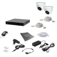 Комплект видеонаблюдения Tecsar AHD 2IN 8MEGA