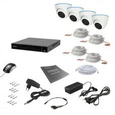 Комплект видеонаблюдения Tecsar AHD 4IN 8MEGA