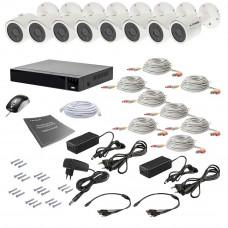 Комплект видеонаблюдения Tecsar AHD 8OUT 8MEGA