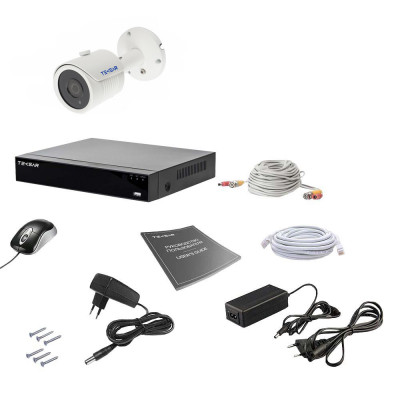 Комплект видеонаблюдения Tecsar AHD 1OUT 5MEGA