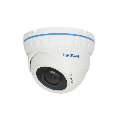 Видеокамера AHD купольная Tecsar AHDD-30V5M-out