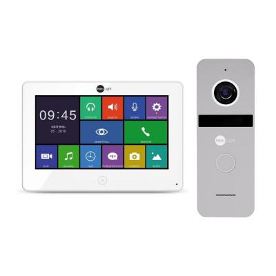 Комплект видеодомофона Neolight ALPHA HD / Solo FHD Silver