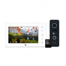 Комплект видеодомофона Neolight NeoKIT Pro Black