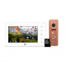 Комплект видеодомофона Neolight NeoKIT Pro Bronze