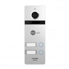 Многоабонентская вызывная панель NeoLight MEGA/2 Silver