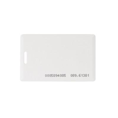 Бесконтактная карта Tecsar Trek EM-Marine 1,6 мм белая с прорезью
