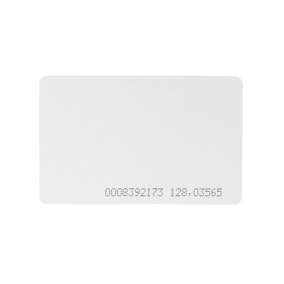 Бесконтактная карта Tecsar Trek EM-Marine 0,8 мм белая