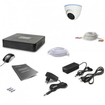 Комплект видеонаблюдения Tecsar 1OUT-DOME