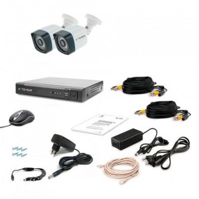 Комплект видеонаблюдения Tecsar AHD 2OUT-3M LIGHT
